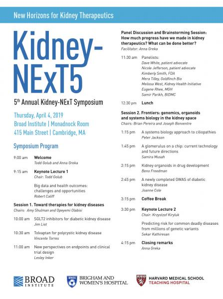 Samira Musah and Musah Lab at Kidney NExT5 Symposium