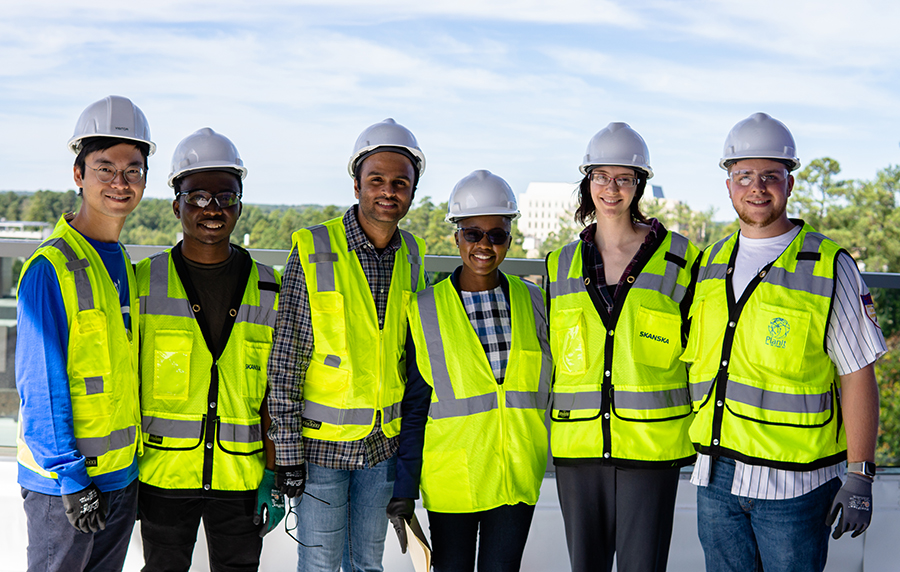 Musah Lab at Duke University_Building tour of the new engineering building 2019