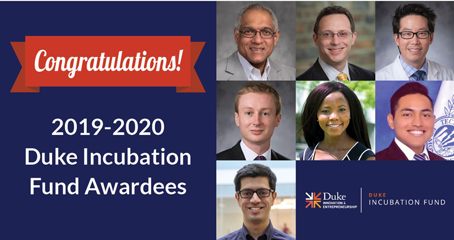 Musah Lab awarded Duke Incubation Fund