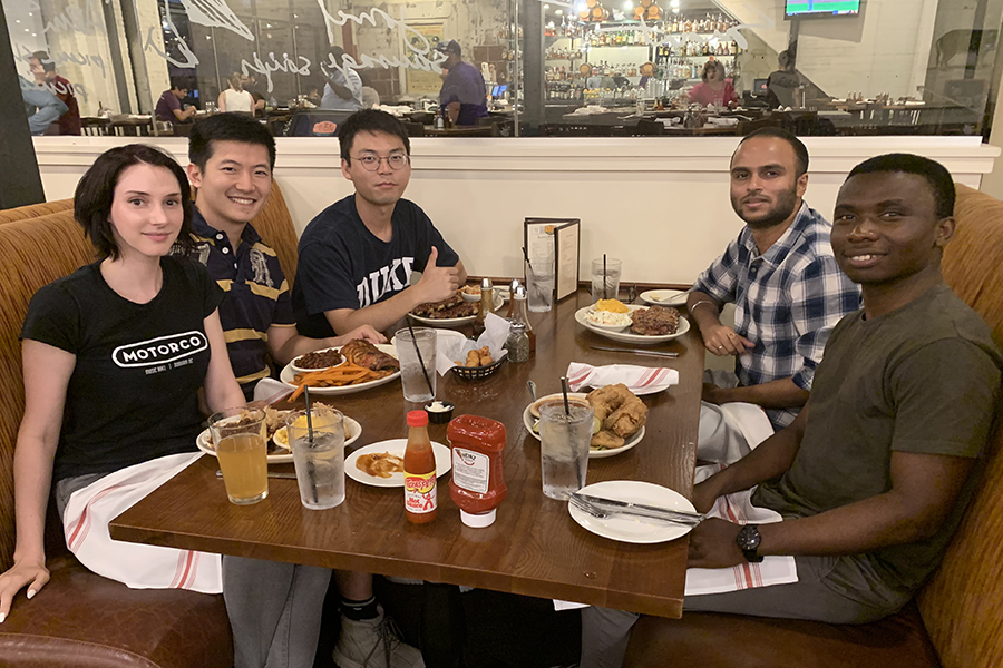 Welcoming Arinze and Rohan to Musah Lab at Duke